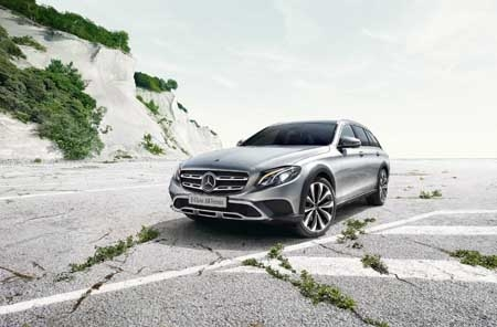 Mercedes-Benz launches  the all-new E-Class All-Terrain