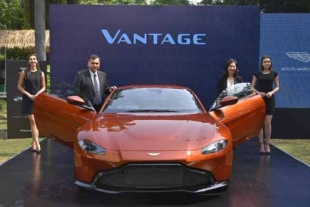 Aston  Martin  launches The New Vantage in India