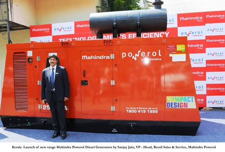 Mahindra Powerol launches all new range of Diesel Generators