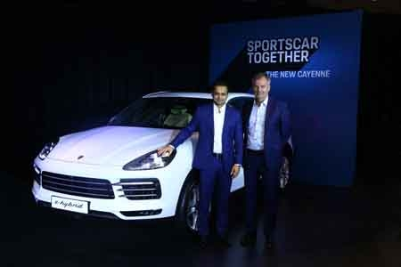 Porsche India welcomes new Cayenne