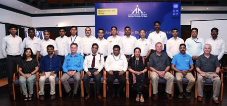 Deutsche Post DHL Group and UNDP scale up airport disaster preparedness training in India