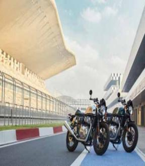 The Royal  Enfield  650 Twin Motorcycles get new  colourways